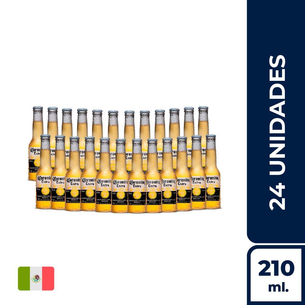 CORONITA BOT 210 ML - CAJA X24