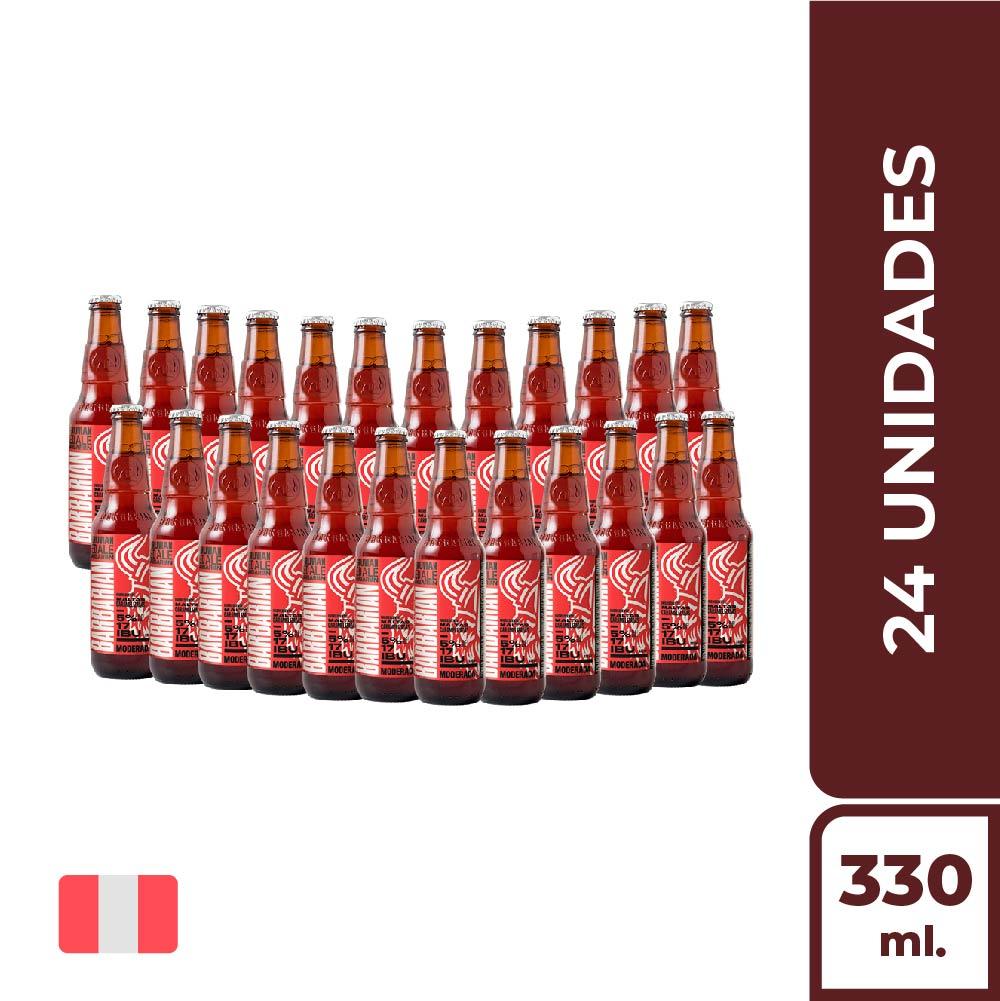 BARBARIAN RED ALE BOT330ML - CAJA X24