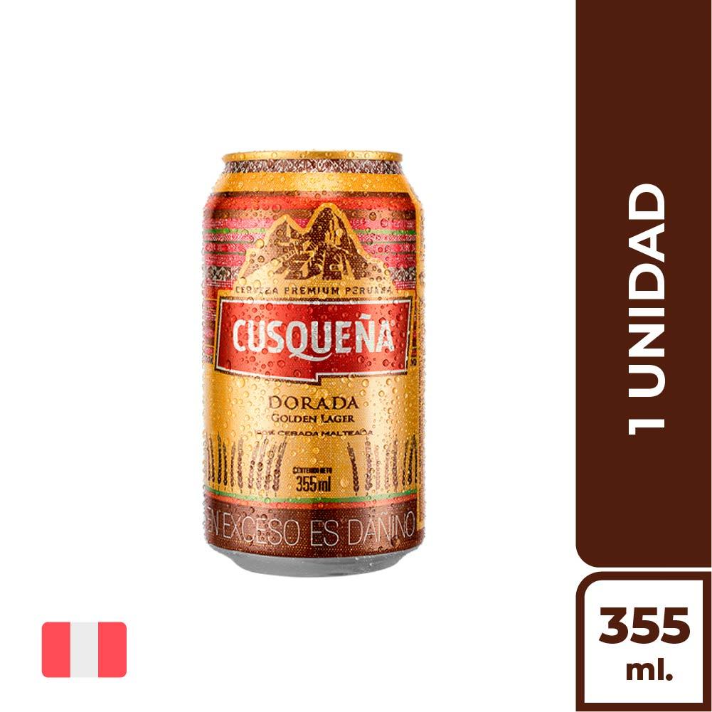CUSQUEÑA DORADA LATA 355ML