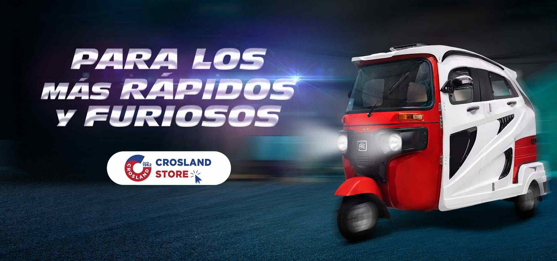Encuentra los mejores accesorios para mototaxi en Crosland Store