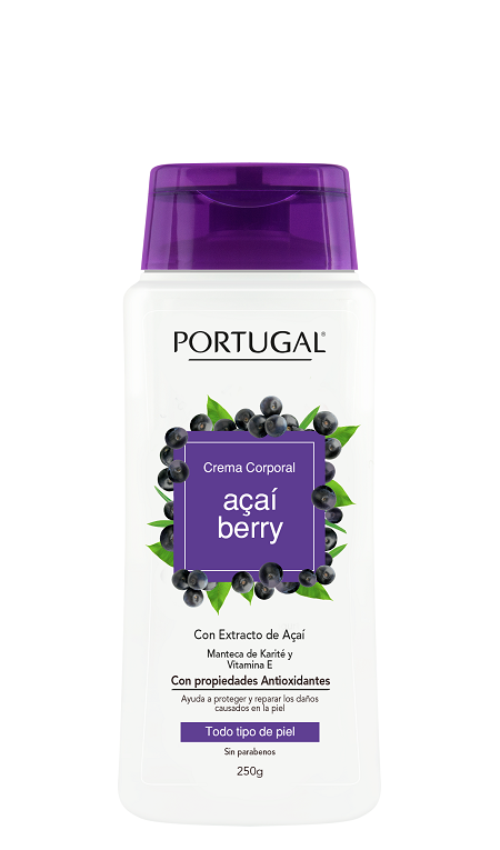 Crema Acai Berry x 250g Portugal Cosmetics