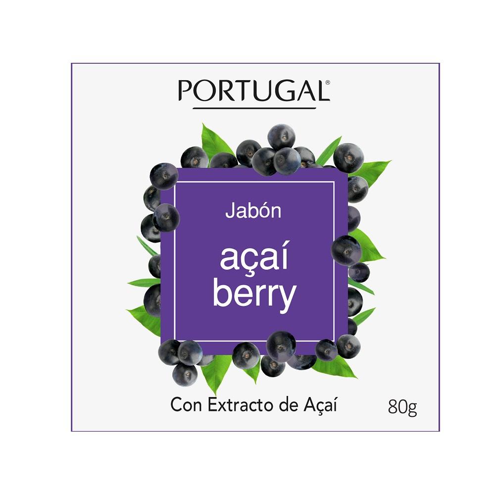 Jabón Acaí Berry x 80g Portugal Cosmetics