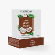 Jabón Coco Fresh x 80g Portugal Cosmetics