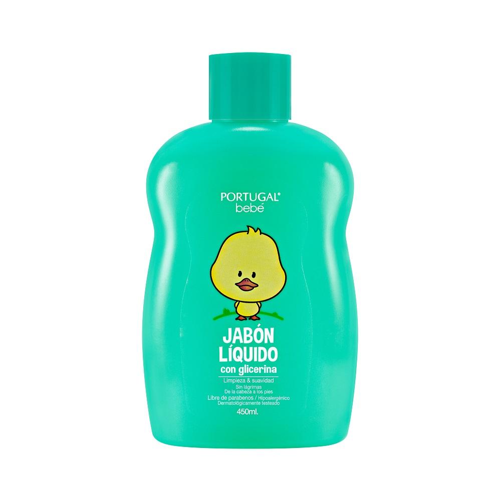 Jabón Líquido para Bebés 450ml Portugal Bebé