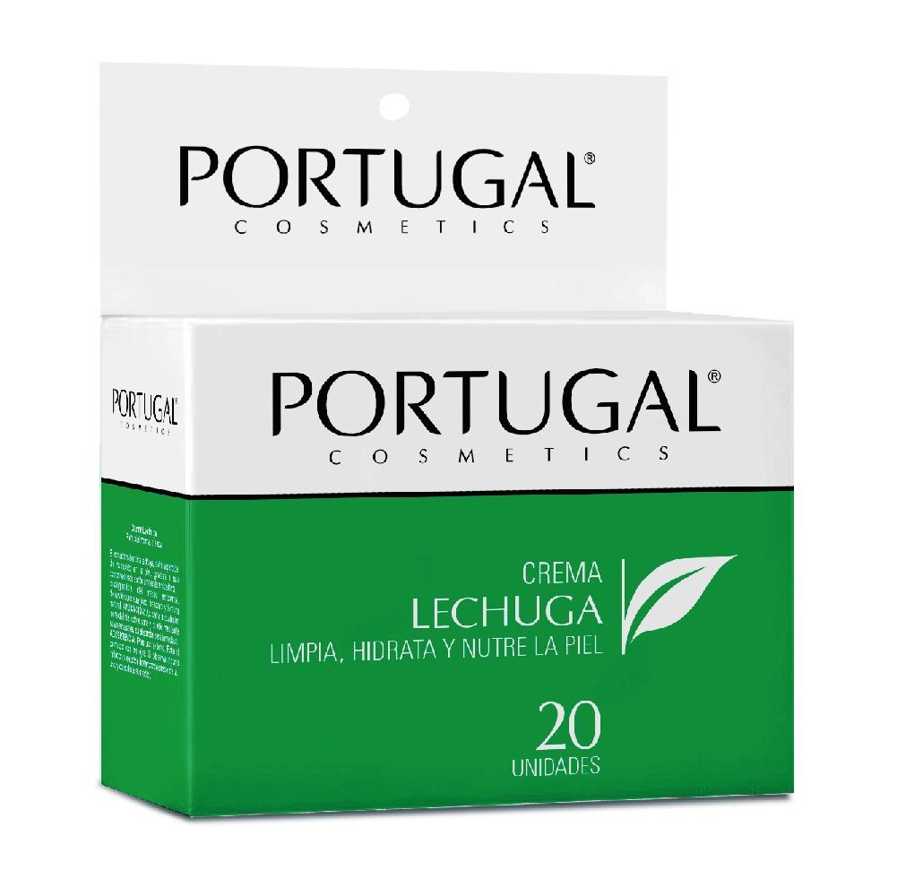 Crema Lechuga - 20 sachets de 10g Portugal Cosmetics