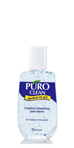 ALCOHOL EN GEL PURO CLEAN 80 ML