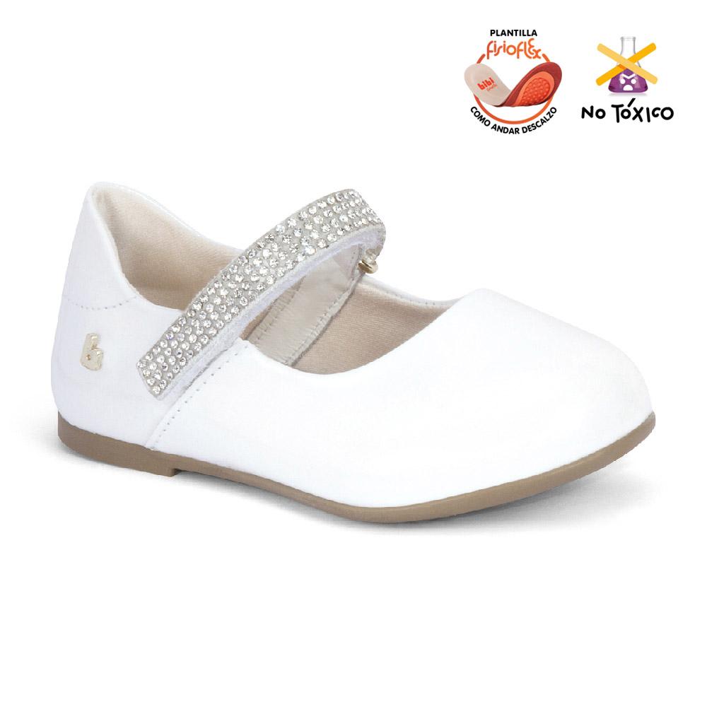 Balerina Bibi Anjos Mini Blanco Para Niña