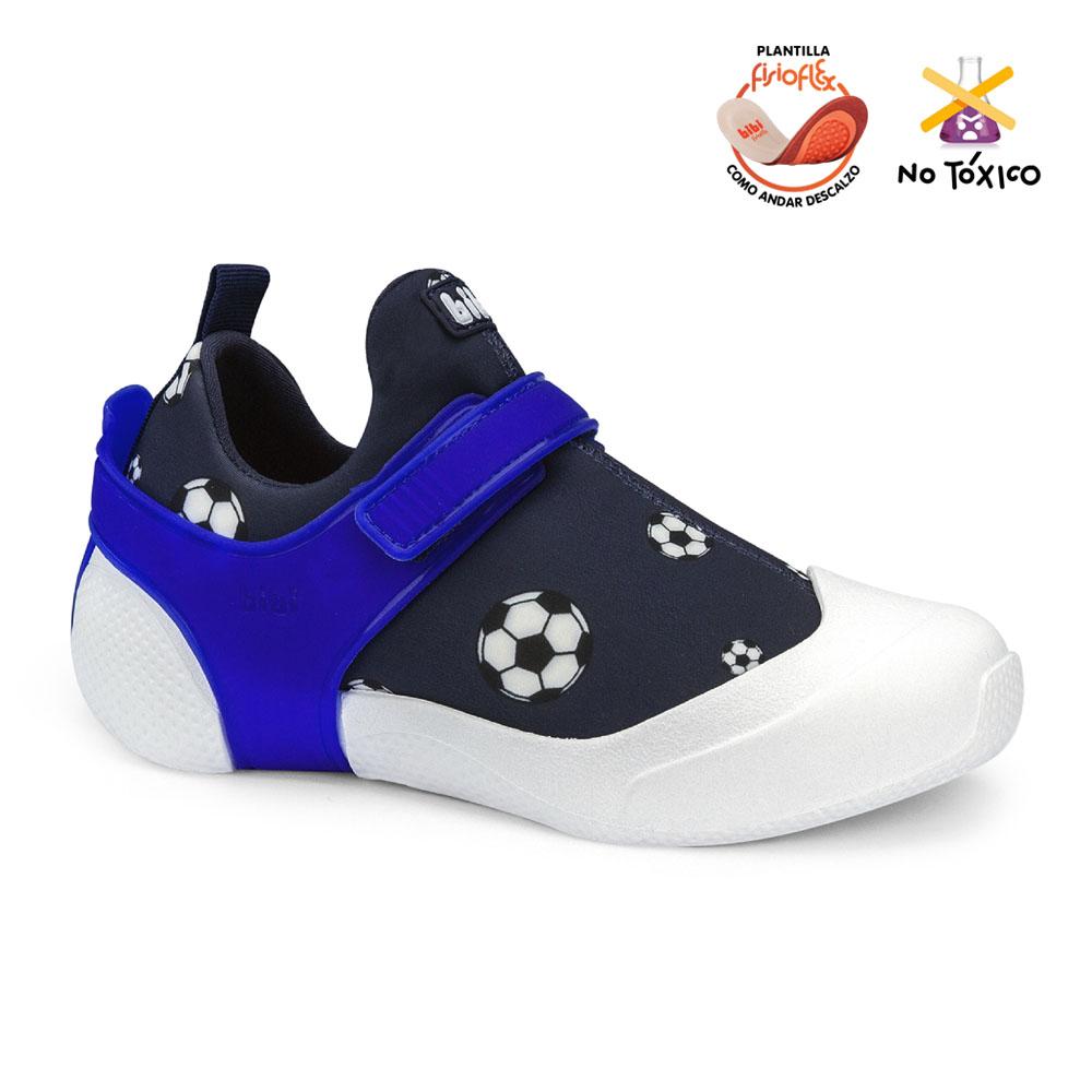 Zapatilla Bibi  2way Azul Para Niño