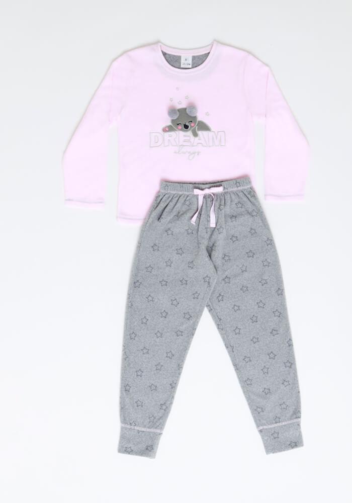 Pijama Niña 63.1340 Polar