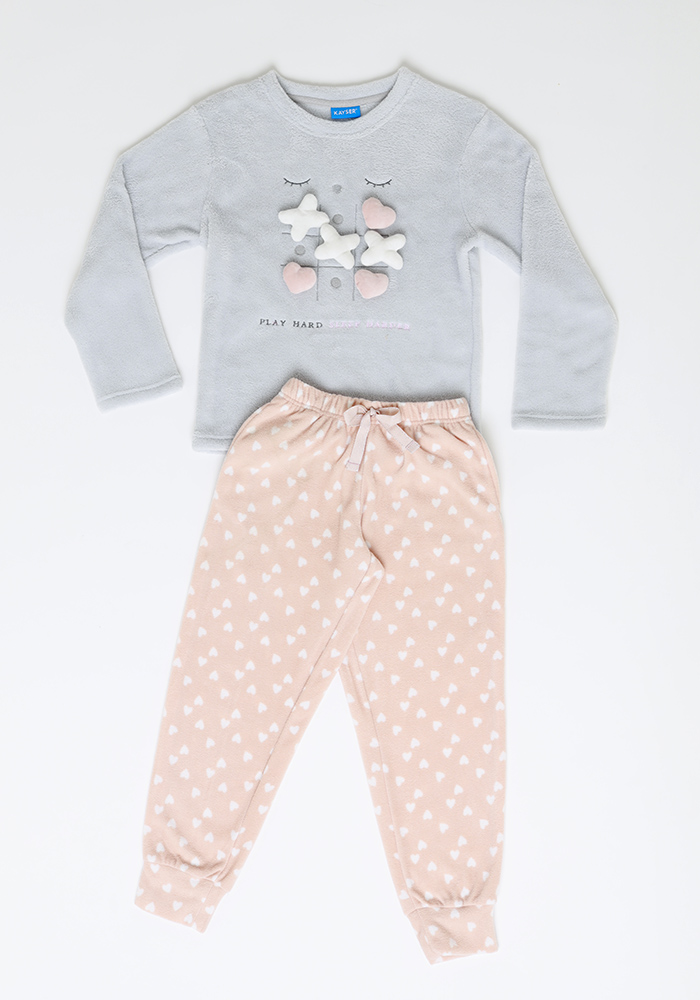 Pijama Niña 63.1327 Coral Fleece
