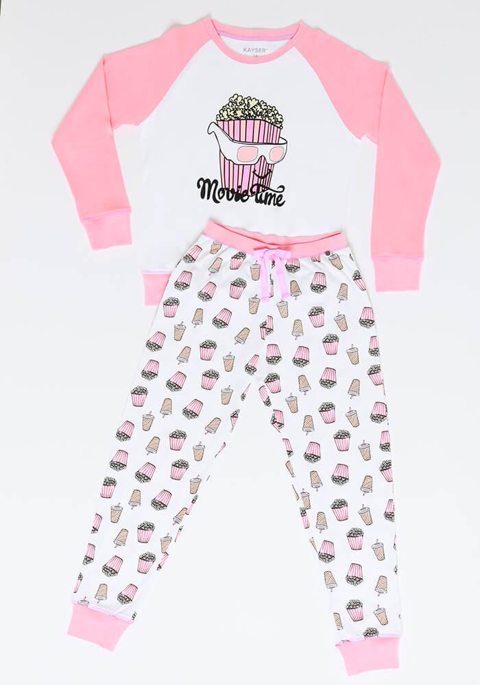 Pijama Juvenil Mujer 65.1330 Algodón