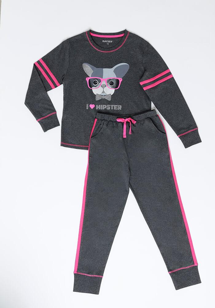Pijama Juvenil Mujer 65.1332 Algodón