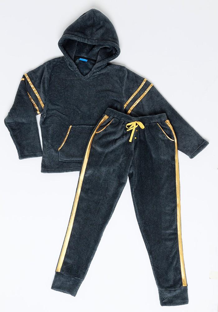 Pijama Juvenil Mujer 65.1336 Coral Fleece