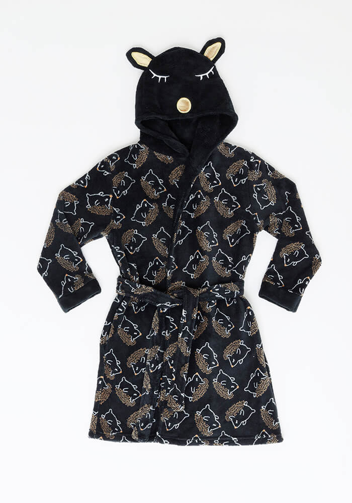 Bata Juvenil Mujer 69.865 Coral Fleece Negro