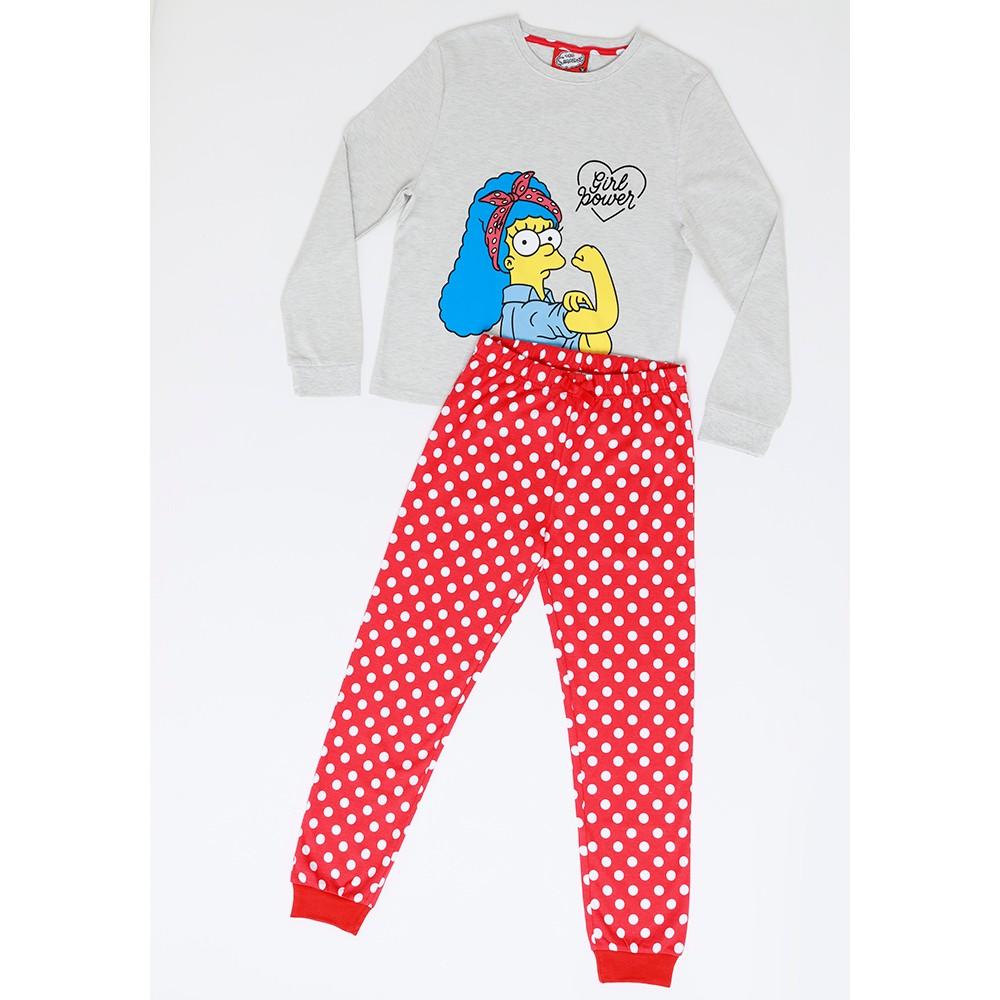 Pijama Juvenil Mujer S6550 Algodón