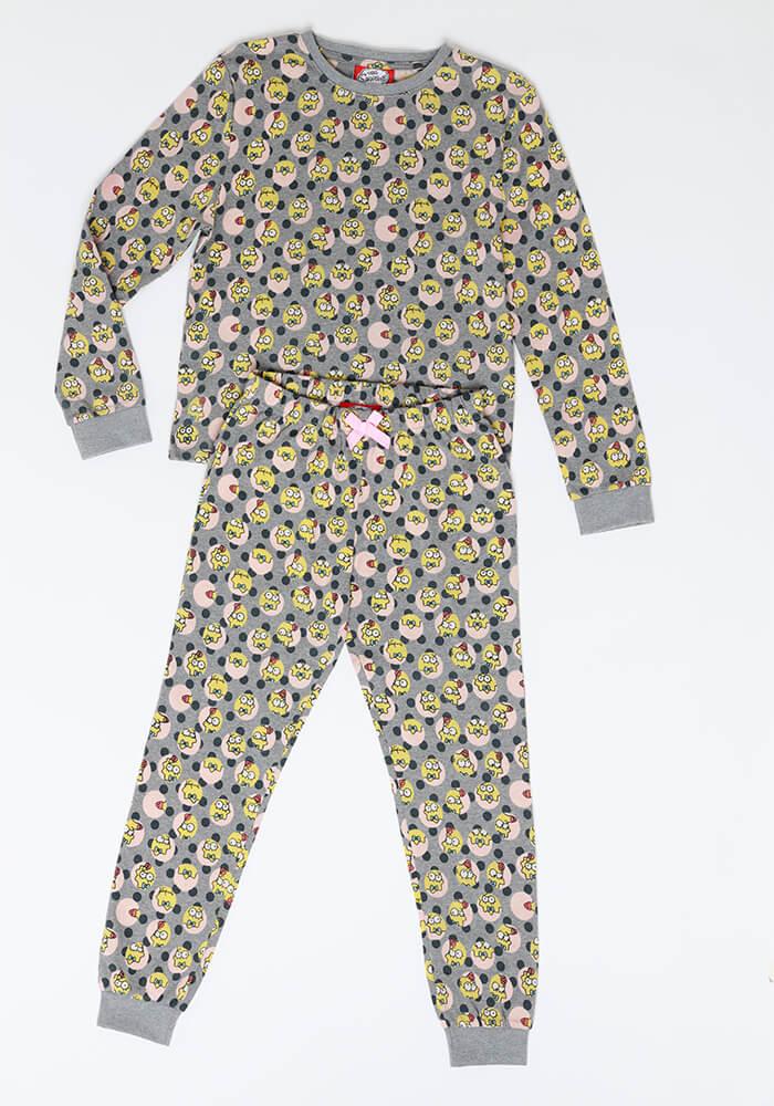Pijama Juvenil Mujer S6552 Algodón