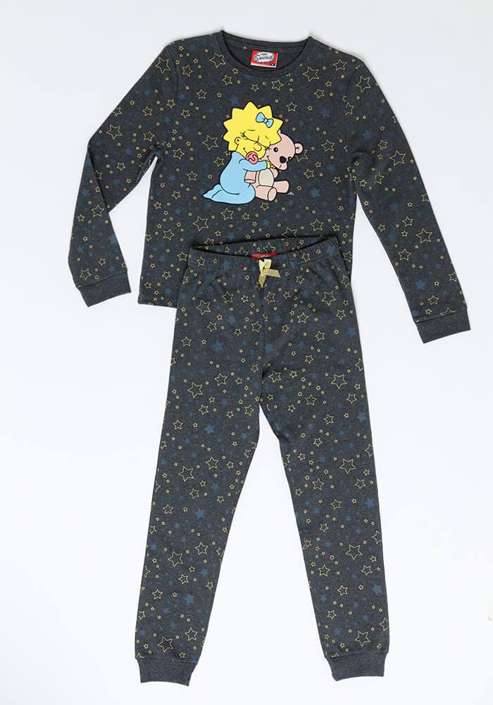 Pijama Juvenil Mujer S6553 Algodón