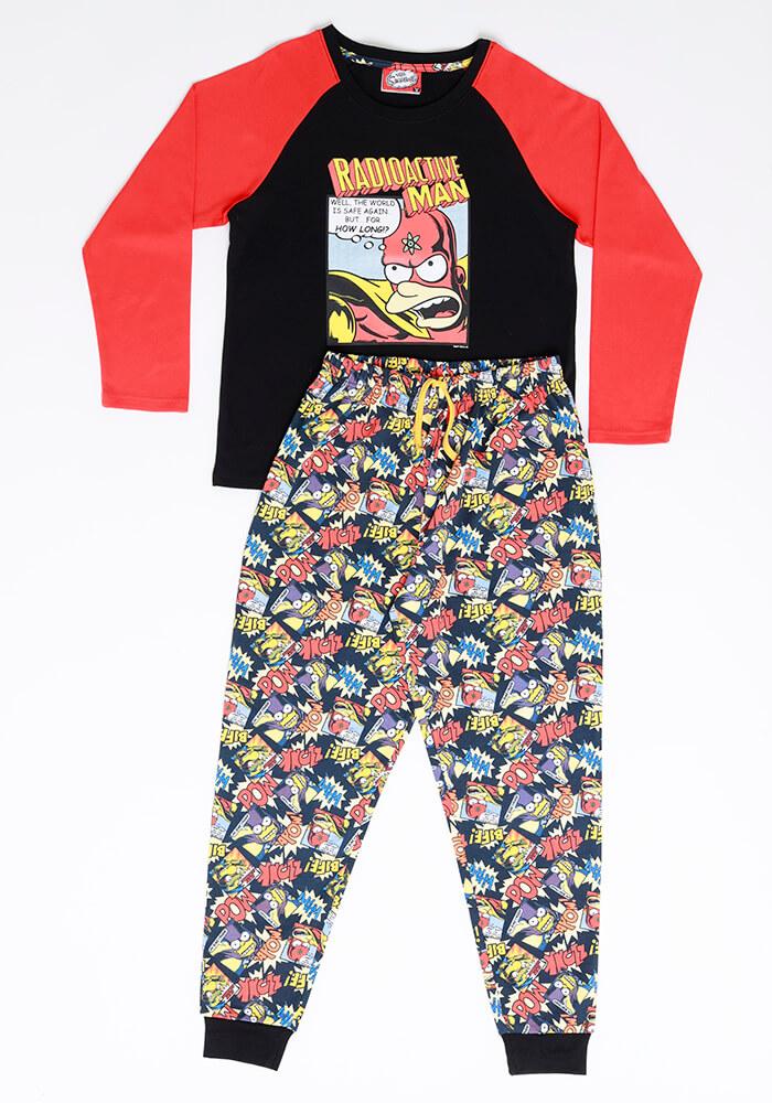 Pijama Juvenil Hombre S6659 Algodón