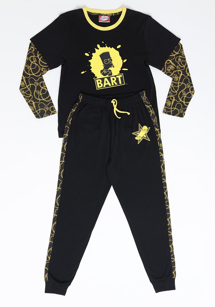 Pijama Juvenil Hombre S6662 Algodón