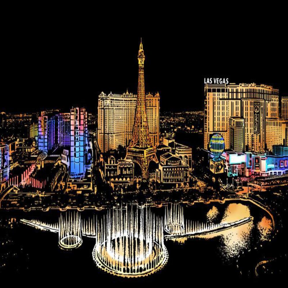 Las Vegas - Scratch Art